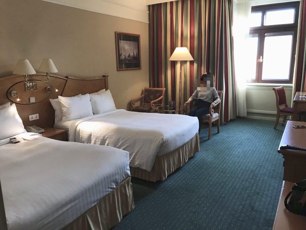 モスクワマリオットホテルの室内
