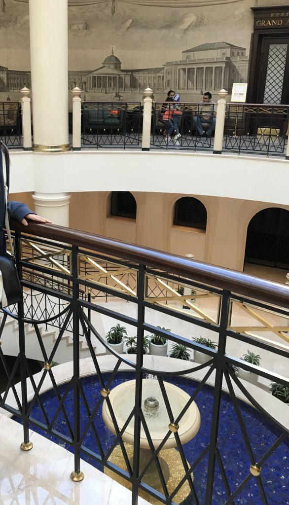 モスクワマリオットホテルロビー